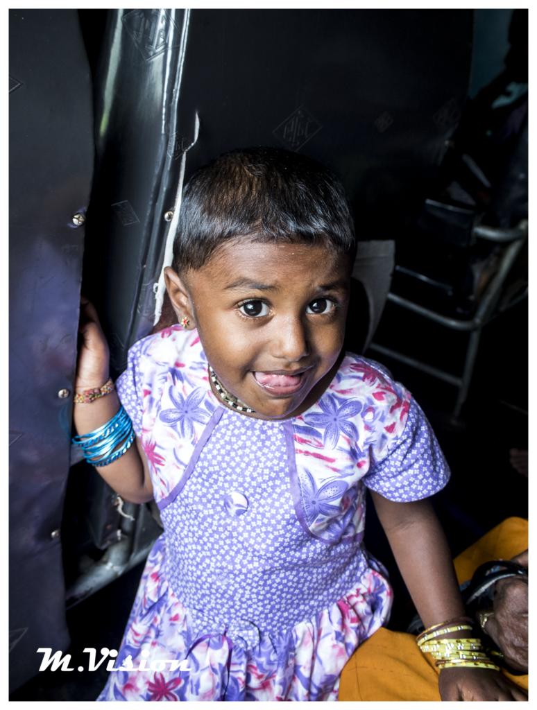斯里蘭卡小女孩